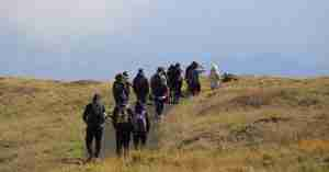 etna trekking tour group